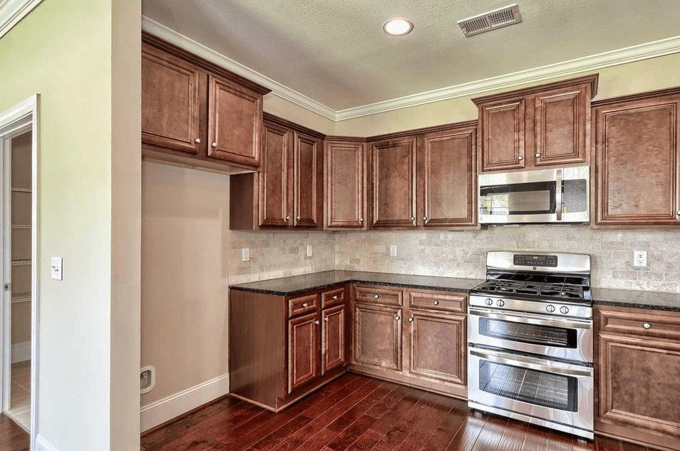 Interior Kitchen Painted