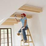 Painter for New Home Construction